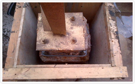 Plinth-repair